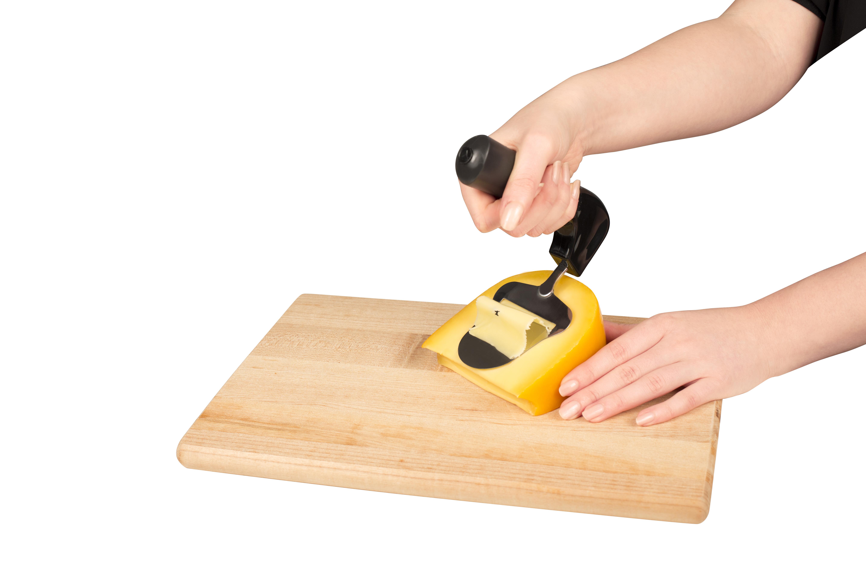 Ostehøvl med ergonomisk håndtag