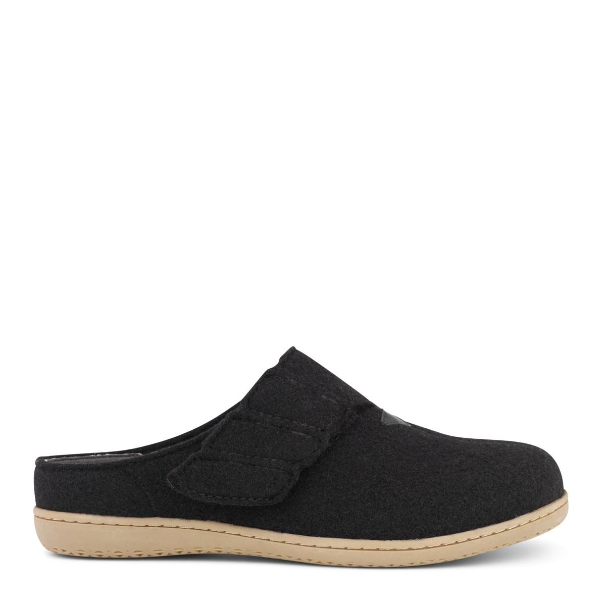 Image of   New Feet dame hjemmesko i uld uden hælkappe