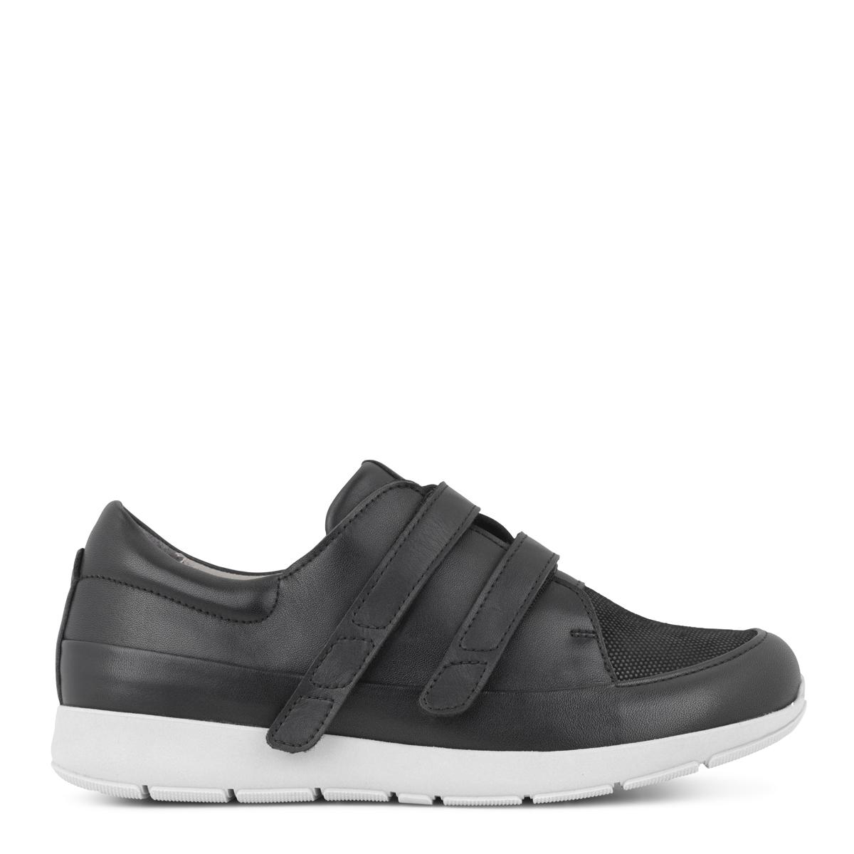New Feet damesko sporty med glimmer-look