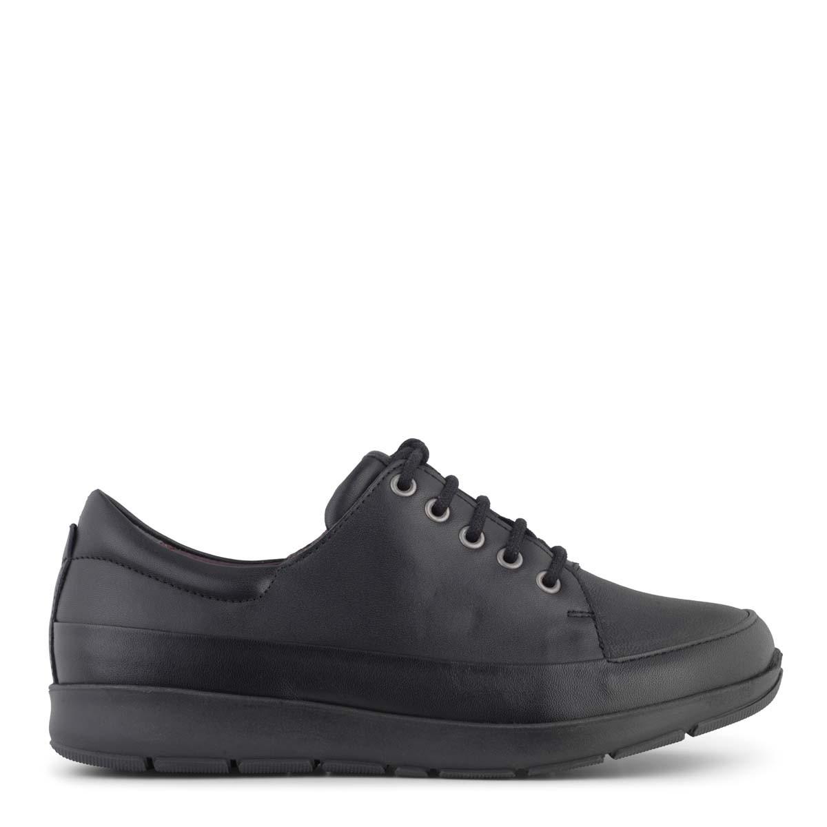 New Feet klassisk sort snørresko fra