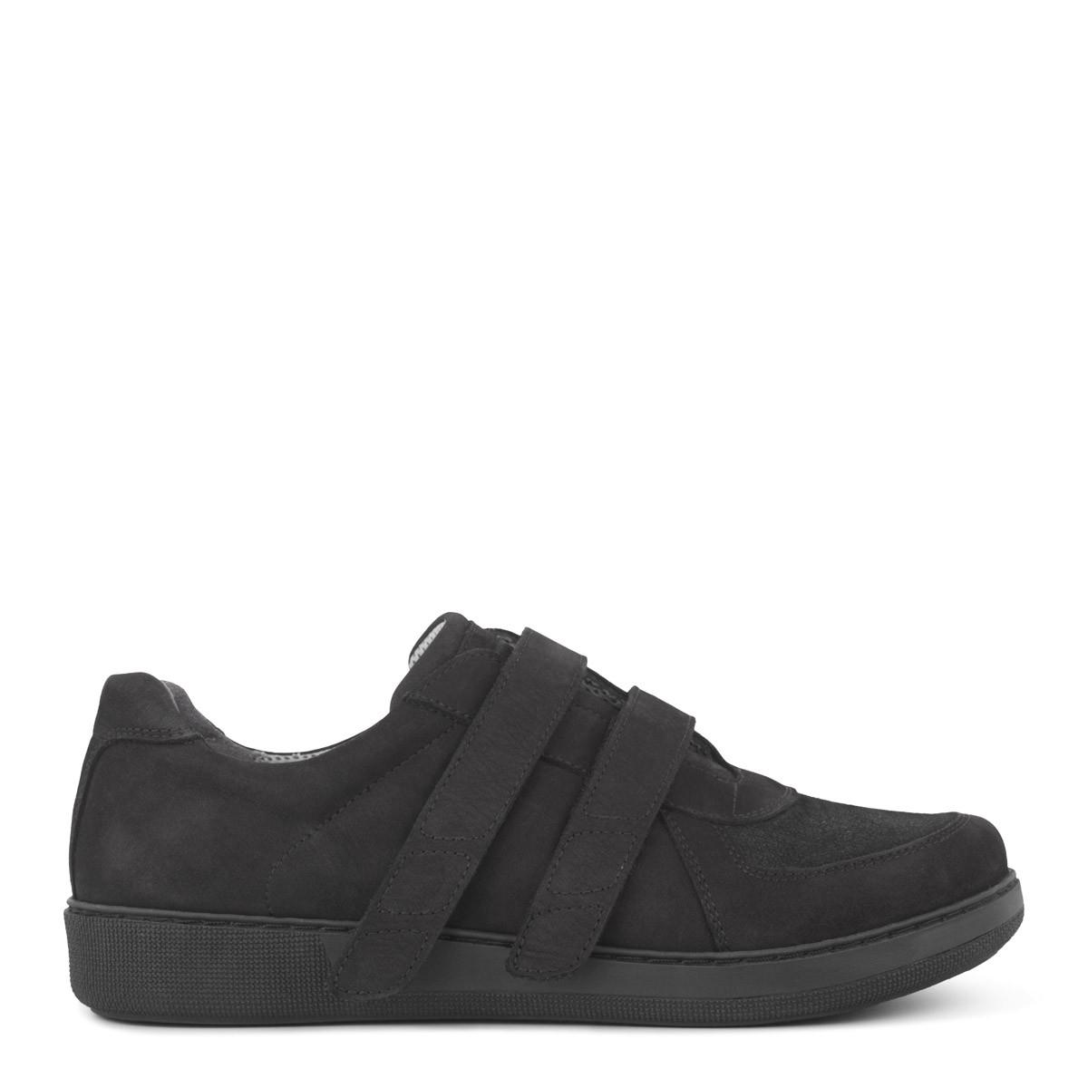 New Feet sko med velcrolukning – ekstra bred fra