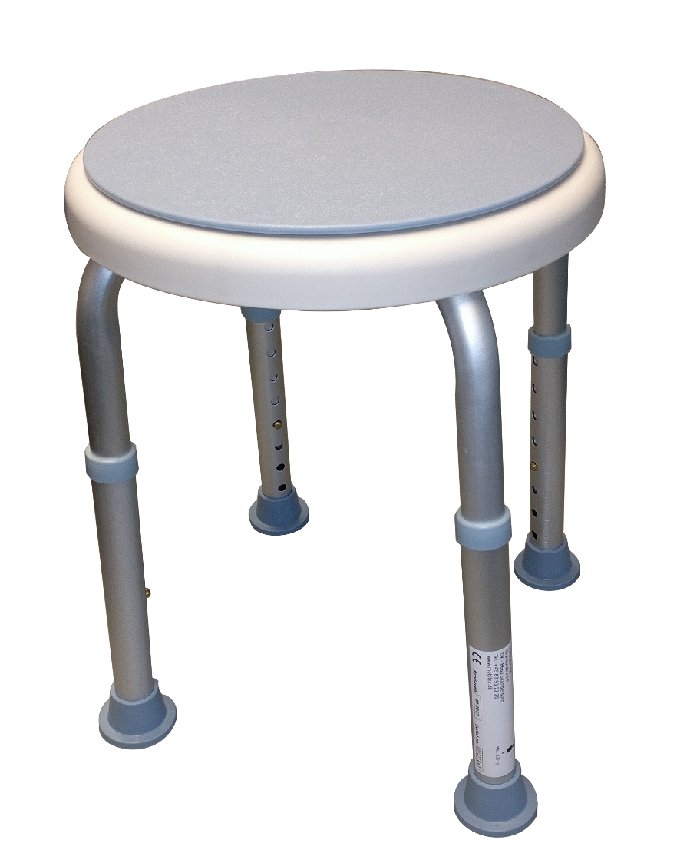 Image of   Badestol med drejbart sæde