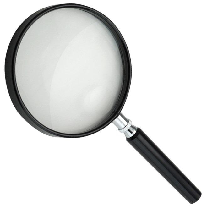 Forstørrelsesglas (ø9 cm)