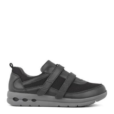 New Feet sporty damesko med velcrolukning
