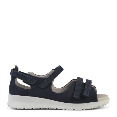 Sandal med god justering - ekstra bred