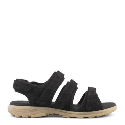 New Feet herresandal med velcroremme