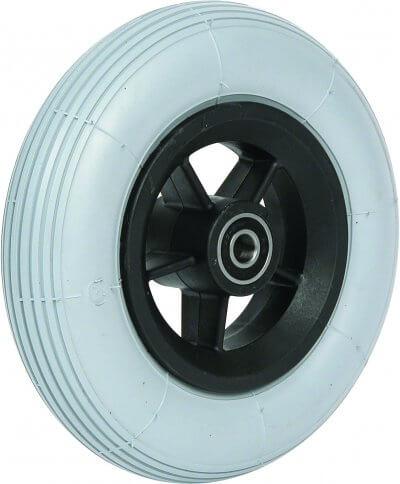 """7"""" flexelhjul inkl. afstandsbøsninger (175x45)"""