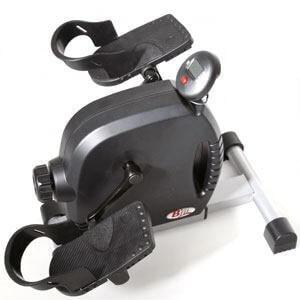 Pedaltræner med modstand og omdrejningstæller