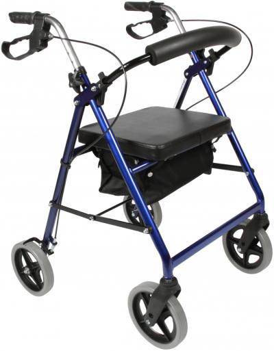 Billig rollator, god til hjemmet eller førstegangsbrugere