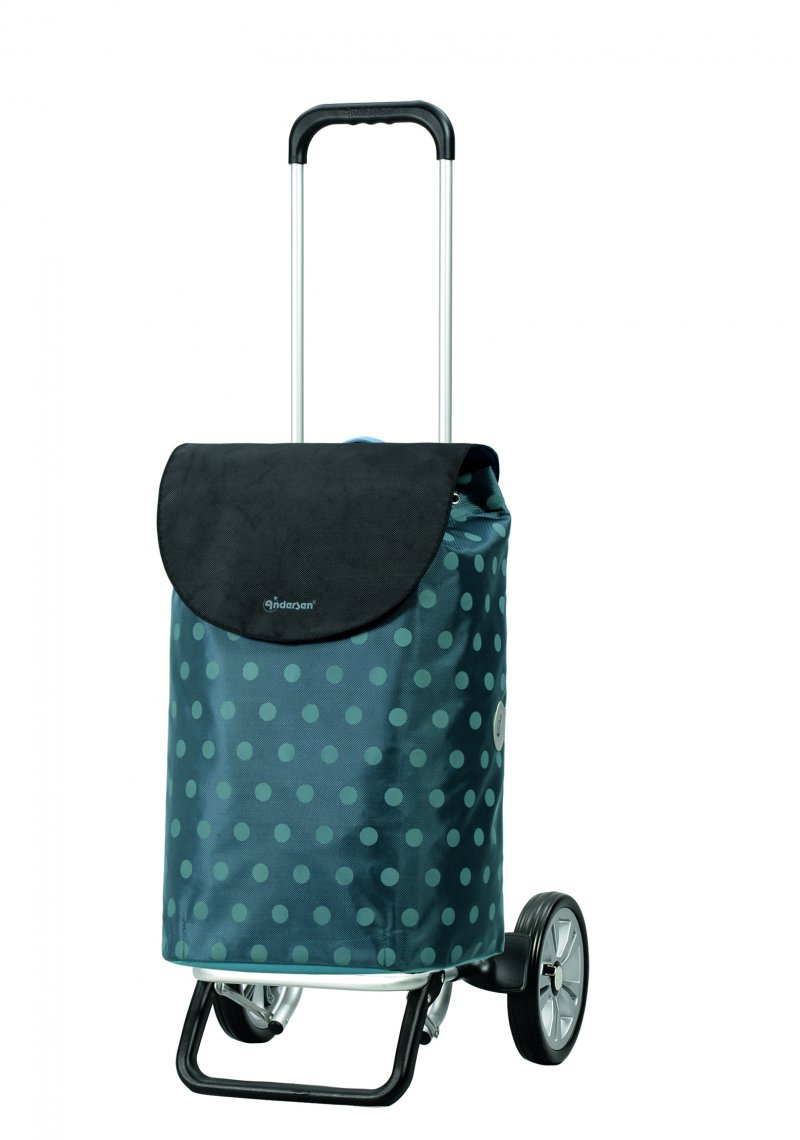 Unus Shopper Henni Indkøbsvogn Trolley på hjul med ergonomisk håndtag