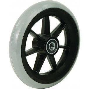 """8"""" gummibanehjul inkl. afstandsbøsninger (200x27)"""