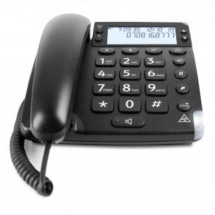 Elegant fastnettelefon til ældre
