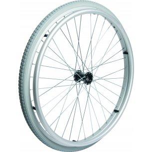 """Komplet baghjul med dæk og drivring (24"""")"""