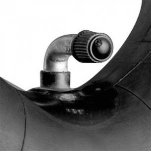 """Slange til dæk på 7"""" (175x45, 90/90 ventil)"""