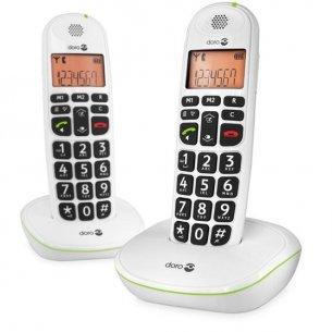 God, trådløs fastnettelefon til ældre - pakken indeholder 2 telefoner