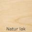 Stel - Natur lakeret birk