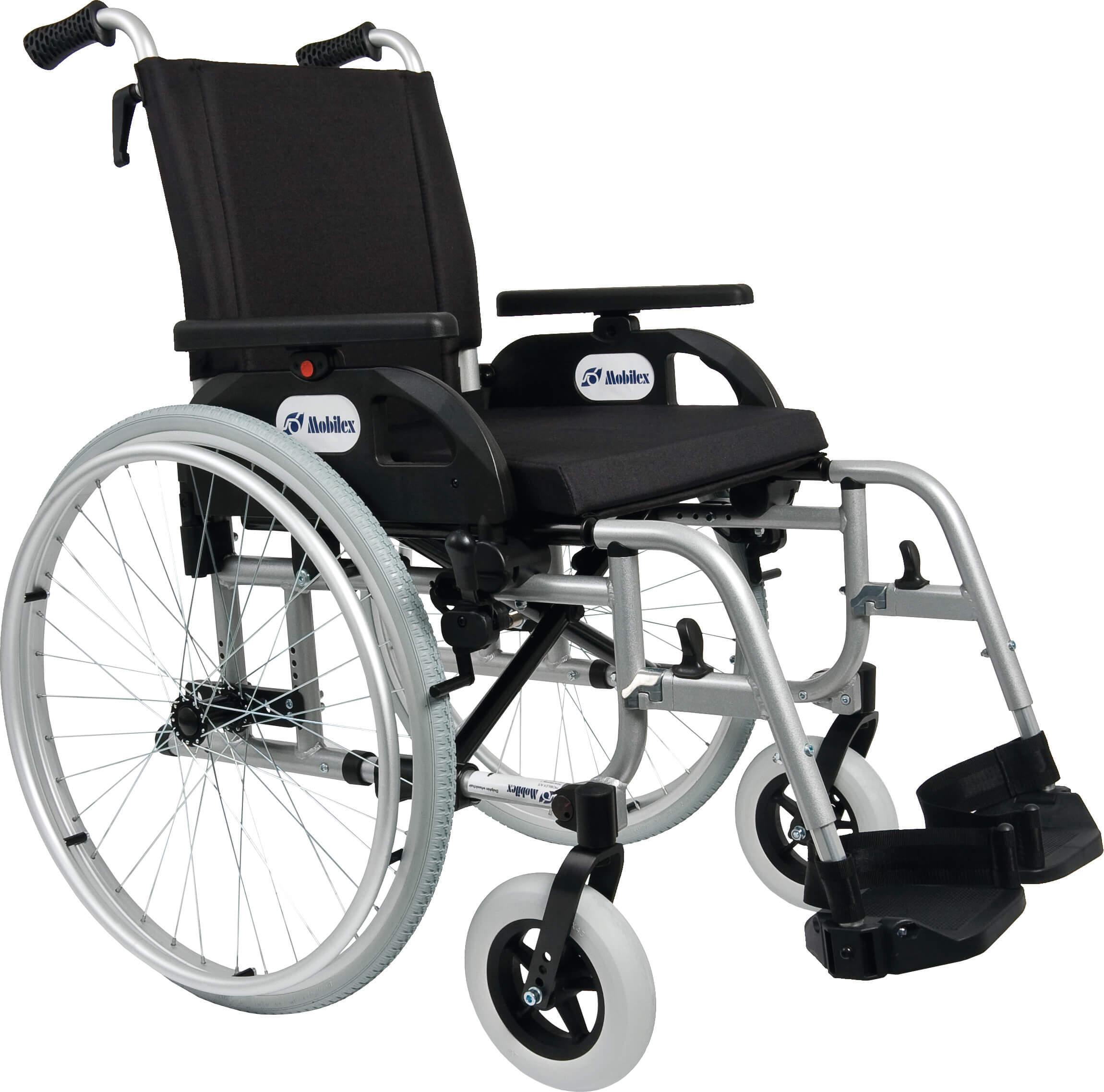 """Image of   Letvægts-kørestol, fås i fire bredder (""""Dolphin"""")"""