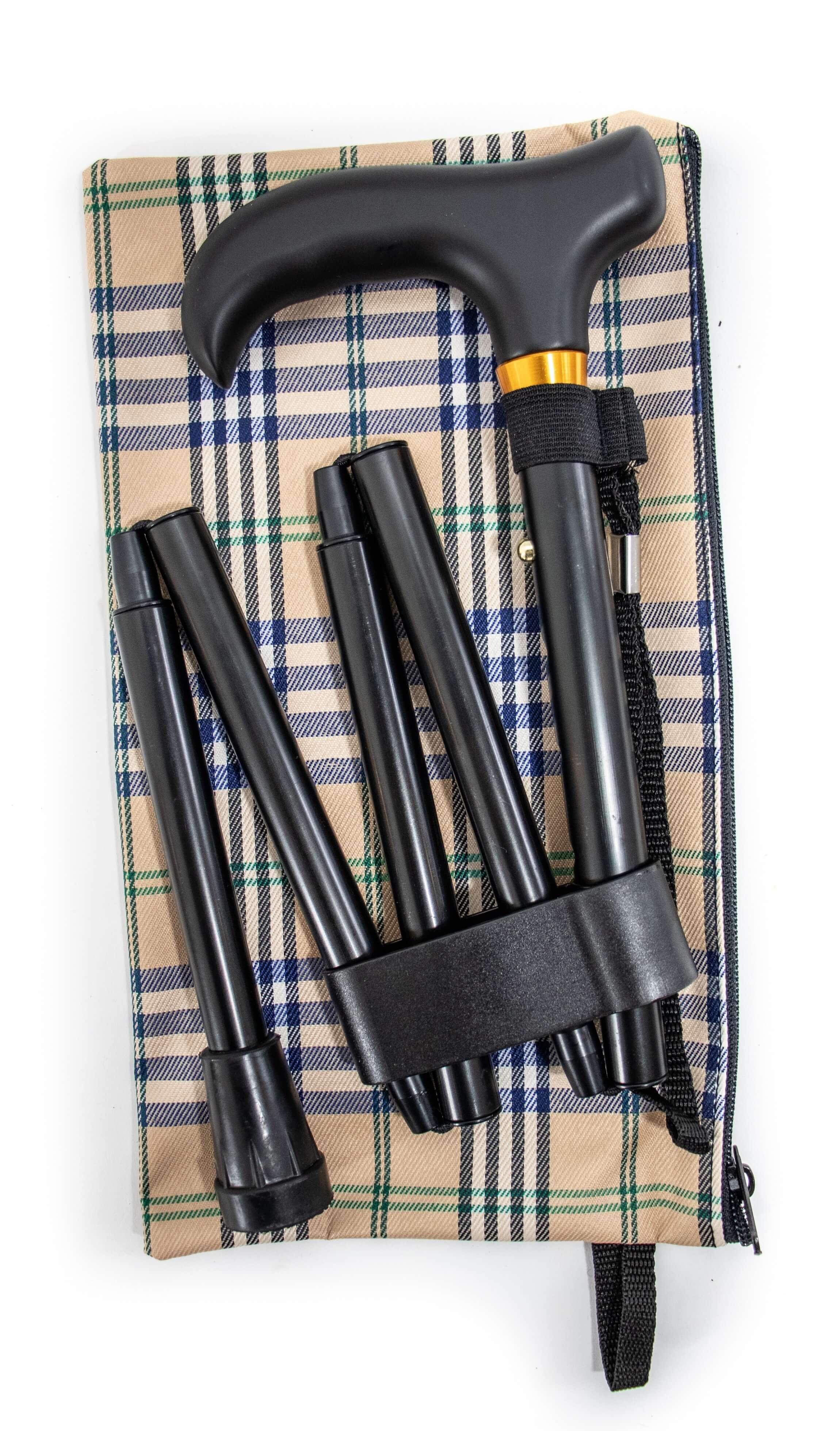 Image of   Ekstra foldbar stok med taske
