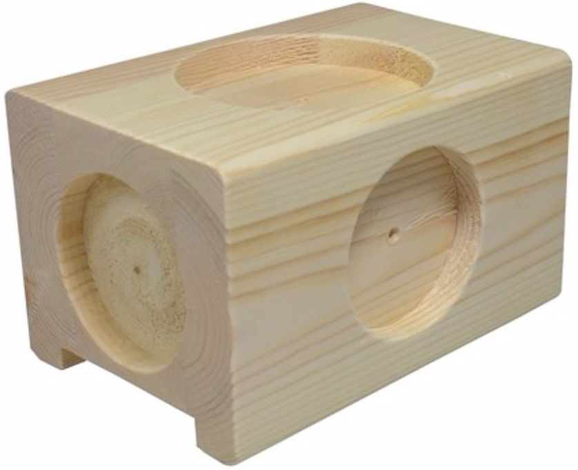 Forhøjerklodser i træ (kan stilles til 3 forsk. højder) – pris 150.00