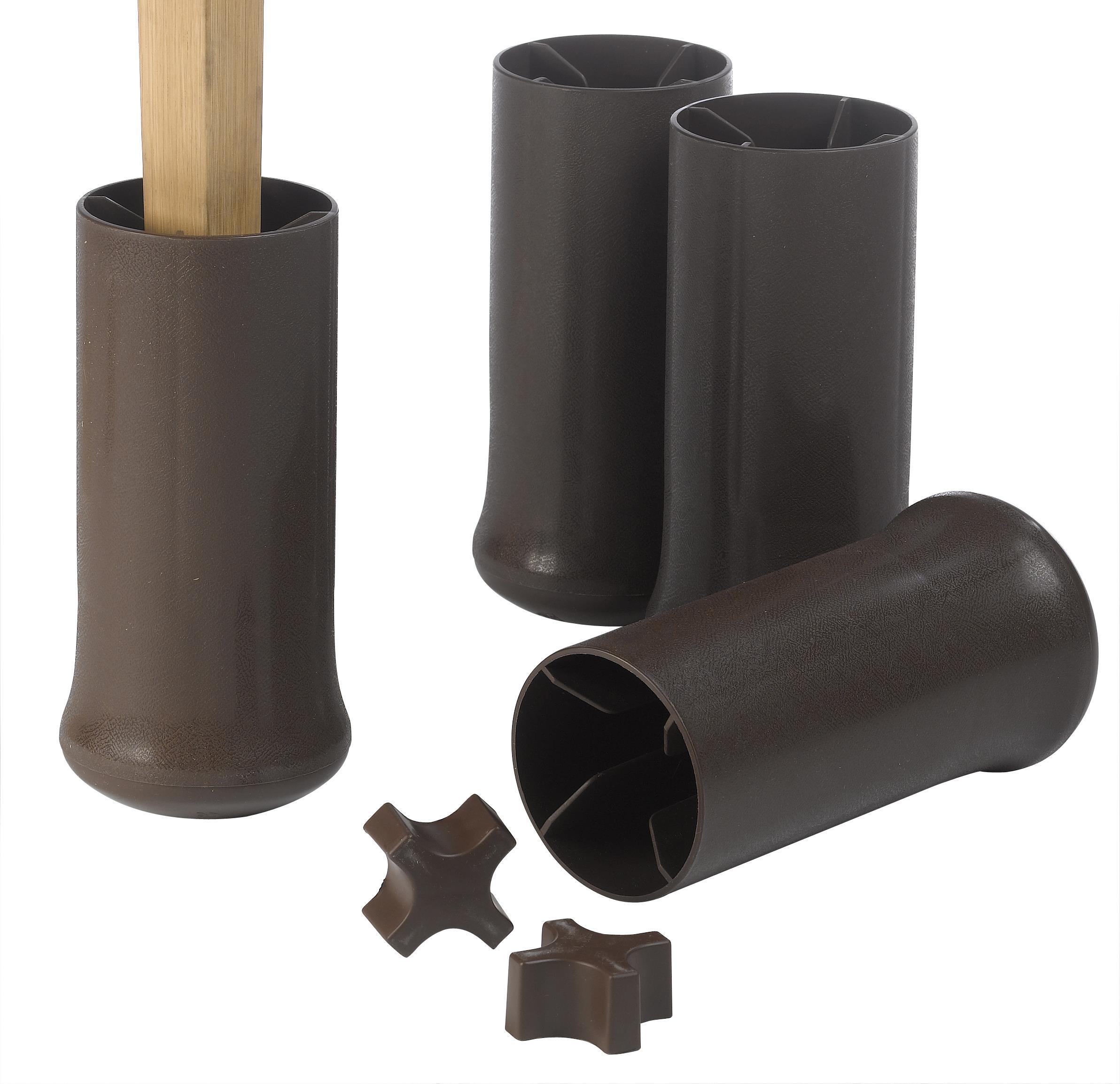 Forhøjerklodser, kan indstilles fra 7,5 – 12 cm. (4 stk.) – pris 499.00