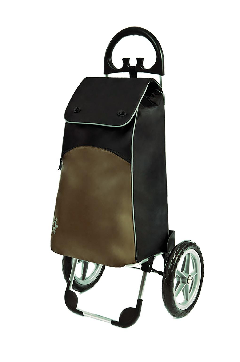 Indkøbsvogn med store hjul og termorum – pris 799.00