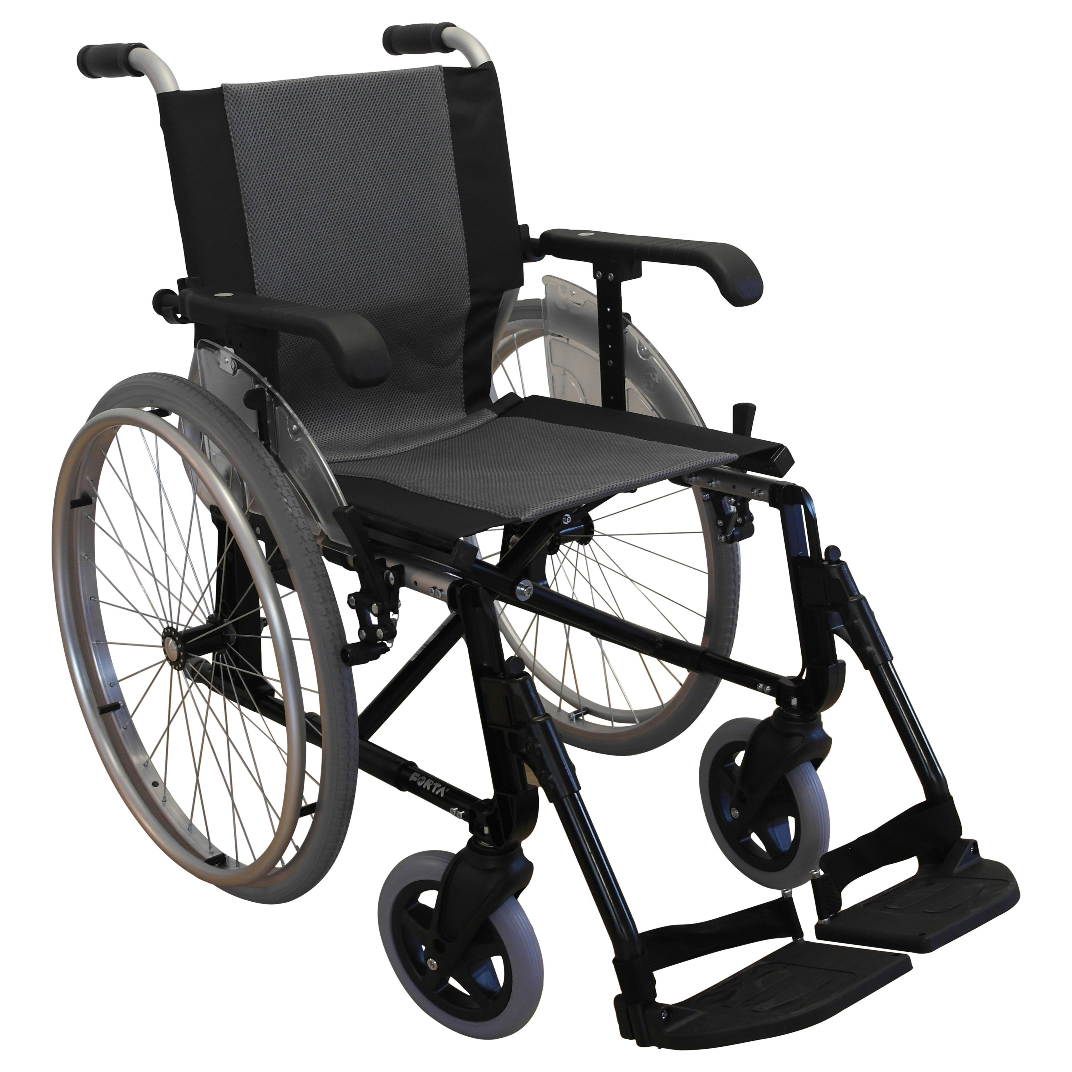 """Kørestol med ekstra lav vægt, 45 cm. (""""Line"""") – pris 4100.00"""