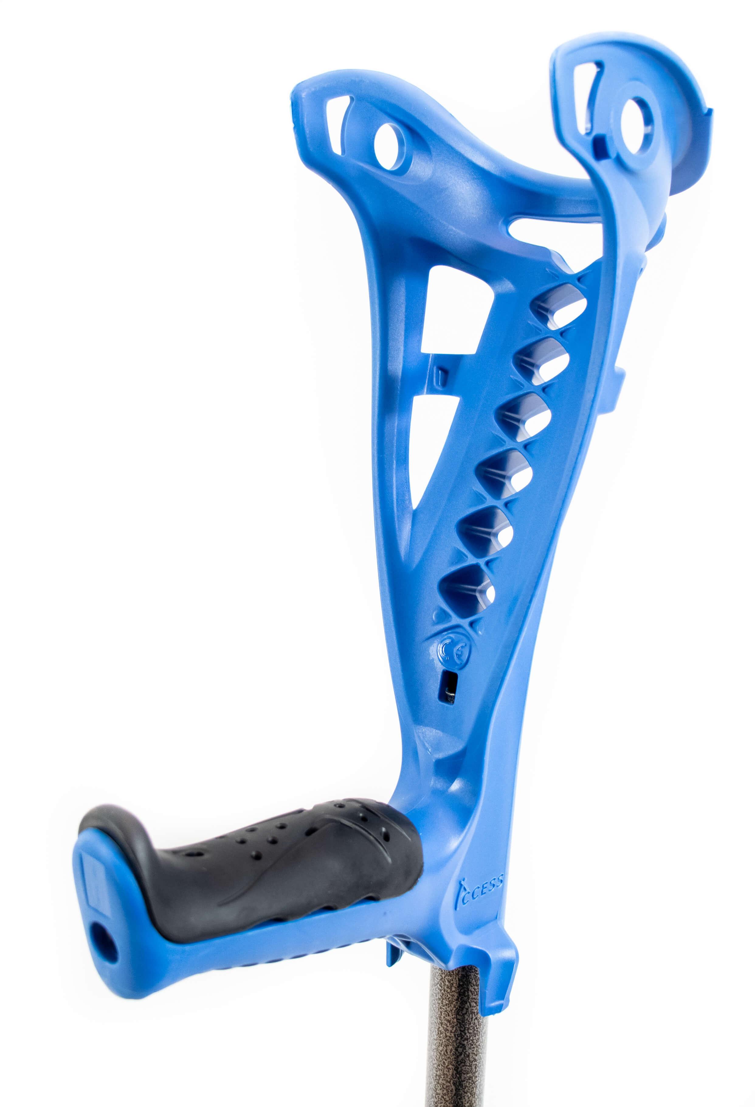 Luksus krykker (2 stk) – blå