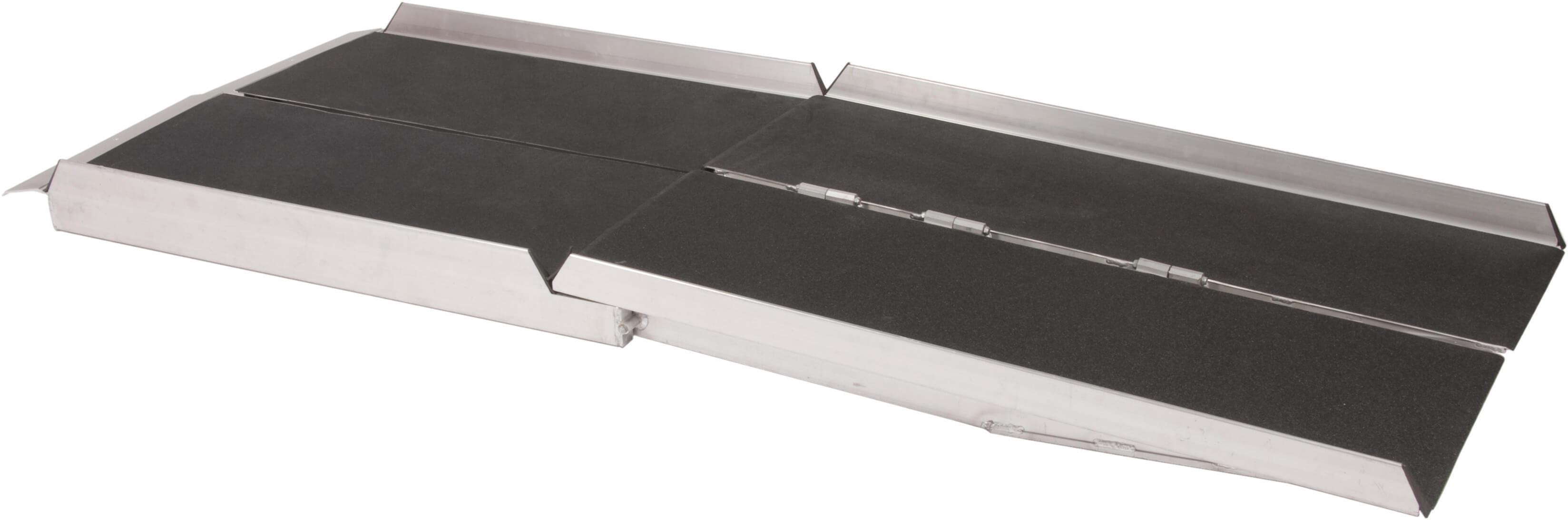 Foldbar alurampe, 180 eller 240 cm fra