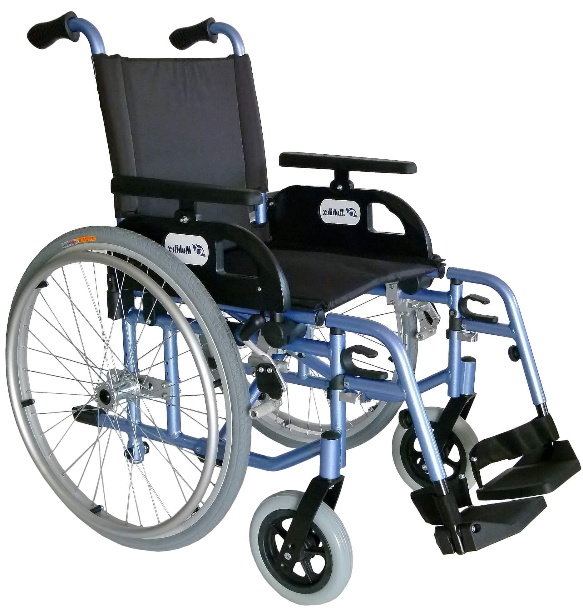 Image of   Letvægtskørestol med luftdæk (Flipper)
