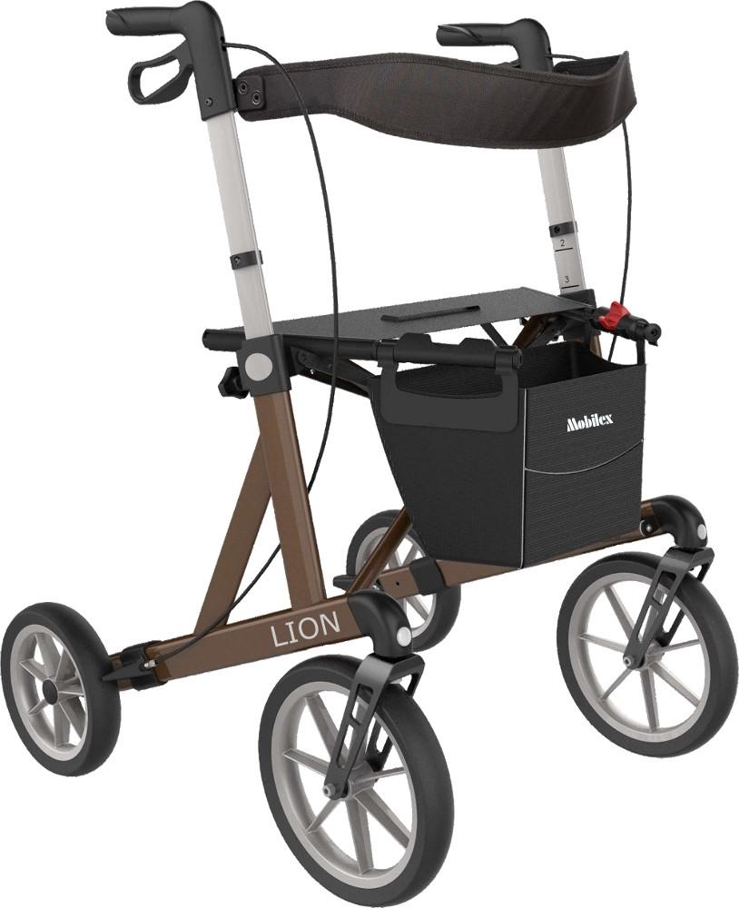 Mobilex Lion – rollator til udendørs brug fra