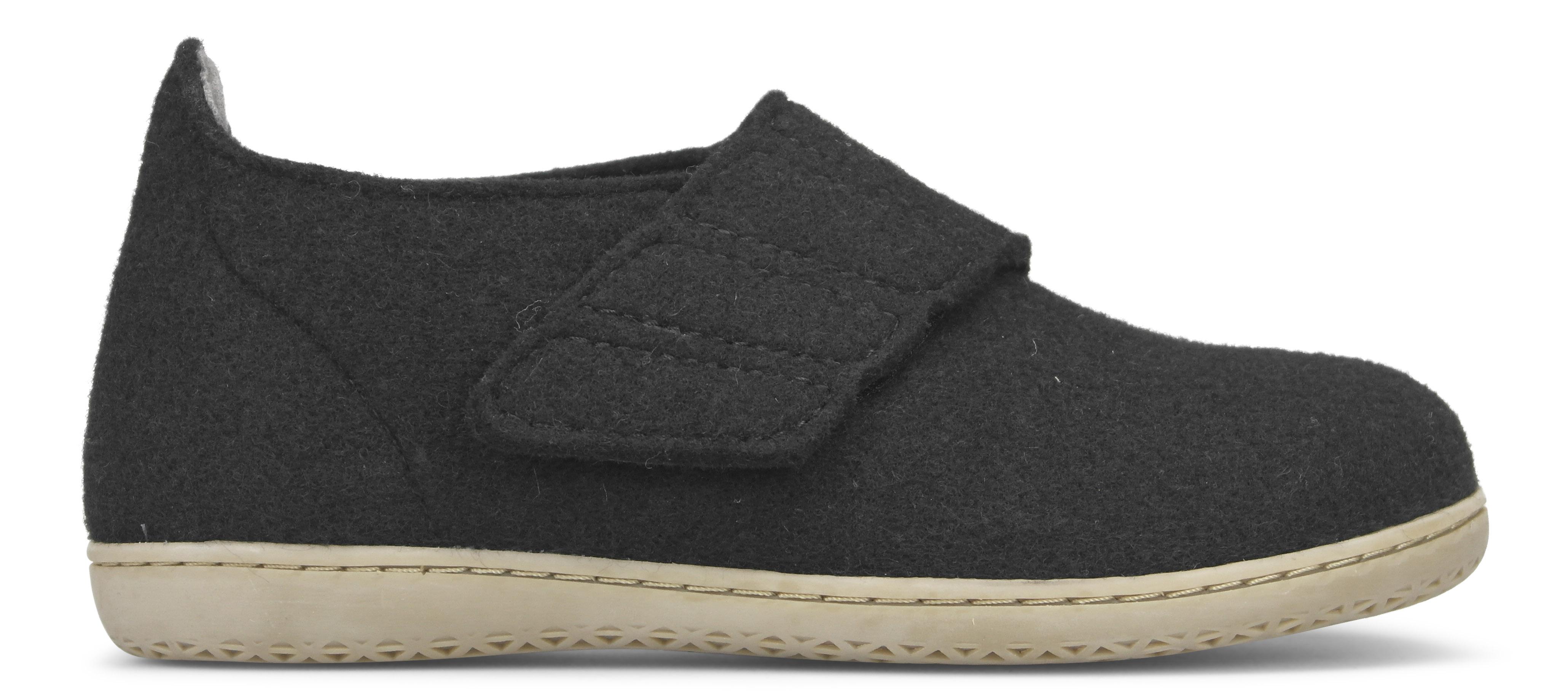 New Feet dame hjemmesko i uld med hælkappe fra