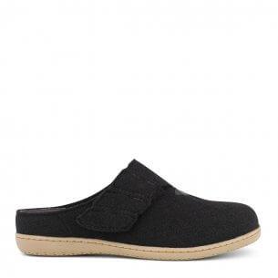 New Feet dame hjemmesko i uld uden hælkappe