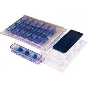 Doseringsæske til medicin i kraftig plastikpose