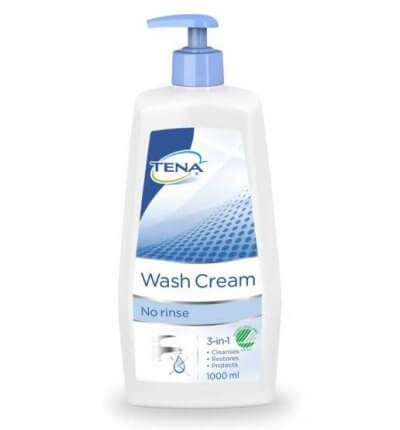 Tena Wash Cream med pumpe