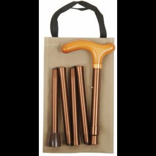 Ekstra kompakt stok, som leveres med en flot taske