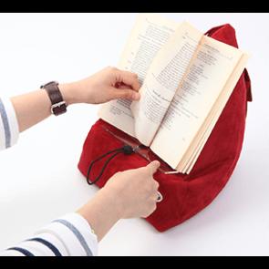 læsestativ bog og ide