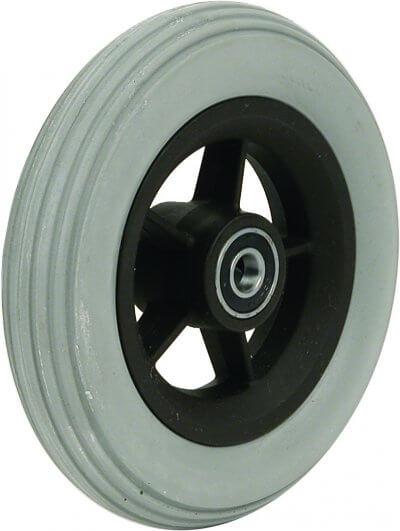 """6"""" polyurethanhjul inkl. afstandsbøsninger (150x30)"""