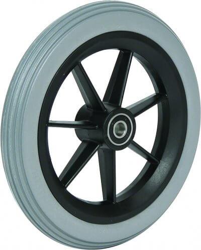 """8"""" polyurethanhjul inkl. afstandsbøsninger (200x30)"""