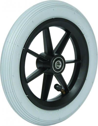 """8"""" flexelhjul inkl. afstandsbøsninger (200x30)"""