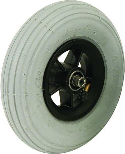 """8"""" flexelhjul inkl. afstandsbøsninger (200x50)"""