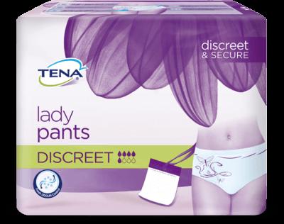 Tena Lady Pants Discreet har lidt højere sugeevne