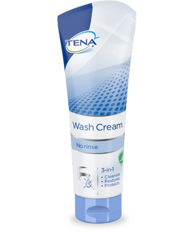 Tena 3 in 1 wash cream