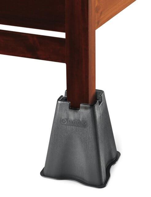 404933d399e1 Sengeklodser på 25 cm. i sort plastik - 399 kr.