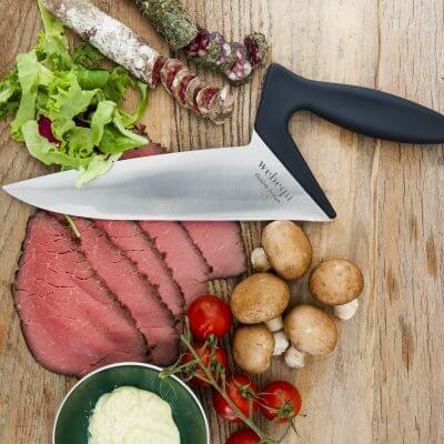 Kniven ser flot ud på ethvert bord