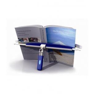 Kan bruges til både bøger og aviser
