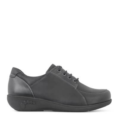 New Feet damesko i olieimprægneret læder med stræk