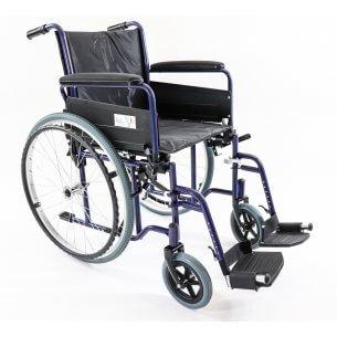 Kørestolen rummer de mest nødvendige funktioner, og er nem at anvende.