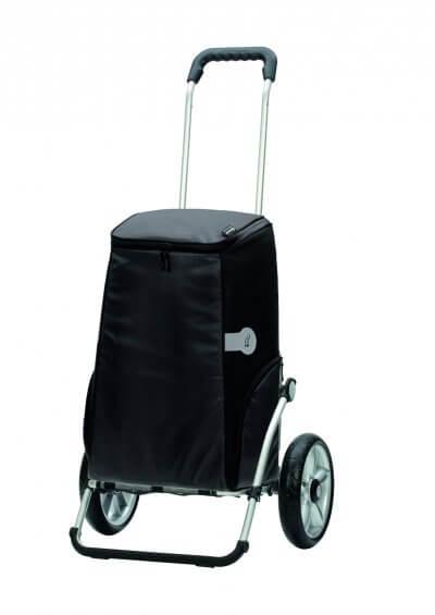 God indkøbsvogn, hvor tasken er nem at komme til