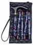 Rigtig elegant stok med praktiske opbevarings-taske