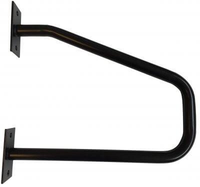 Stort støttegreb lavet i robust stål